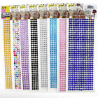 Self Adhesive Glitter Crystals Gems Jewels Stick On Diamante Rhinestones Strip