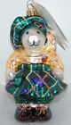 Retired Radko HIGHLAND FLING HOPPY Christmas Ornament 01-NAB-10 MUFFY VANDERBEAR