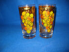 Gold High Ball Tumbler Glasses Set of 2