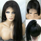 Human Hair Wigs For Women Long Straight Lace Front Full Wig With Baby Hair+
