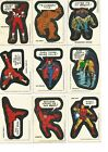 Topps 1975 Comic Book Heroes Stickers. Whole Set. Good Quality. Had Since New!