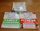 Biggest Loser Family Cookbook Fitness Program 3 book set New