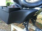 6 Stretched Extended Harley Davidson Side Covers For Dual Exhaust Flh