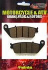 New Performance Organic Brake Pads Honda VT600 Shadow VLX Deluxe Front 1994 2007