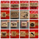 Stampin Up Single Wood Mounted Stamps Varied Rare HTF Never Used YOU PICK