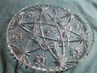 Vintage 13 1/2 inch Serving Platter EAPC Star of David Dishes Anchor Hocking
