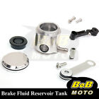 For Ducati Hypermotard 1100 08-13 Silver CNC Front Brake Cylinder Fluid Oil Tank