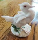 CYBIS WHITE BISQUE PORCELAIN DUCK (RETIRED) 6781
