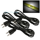 3 10FT 3.5MM MALE JACK AUX STEREO CABLE CORD IPAD IPHONE IPOD TOUCH MP3 CD BLACK