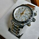 Ebel 1911 Discovery Mens Chronograph 18k Gold/SS Automatic Day Date  Watch 5900$