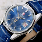 Authentic Rado Golden Horse Date Blue Dial Stainless Steel Automatic Mens Watch