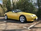 1999 Alfa Spider 20 Zoe Yellow Stainless Exhaust Spares or Repair