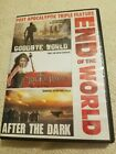 Post Apocalyptic Triple Feature Dvd END OF THE WORLD goodbye world bloodrayne