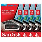 SanDisk USB 30 Cruzer Glide 16GB 32GB 64GB 128GB Flash Drive Memory LOT 1 10