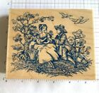 All Night Media Victorian lady and man toile 485K03 Beautiful plus extra