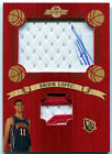 2008-09 Topps Hardwood BROOK LOPEZ On-Jersey Auto 3 Color Patch Redwood SP RC 5