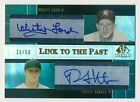 2004 SP Prospects WHITEY FORD PHIL HUGHES RC Dual Auto Link to the Past # 50