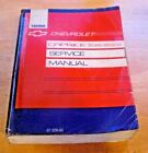 1992 Chevy Caprice Shop Manual 92 LTZ Caprice Classic Sedan Wagon Repair Service