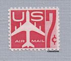 Scott C60 Jet Airliner Red 07c Air Mail 1960 Mint NH Single