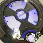 Blue LED Engine Clutch Cover See Through for Kawasaki Zx14R Zzr1400 2006-2014 ch