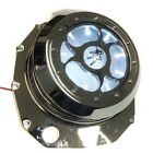 WHITE LED See Through Engine Clutch Cover For Suzuki Gsx1300R Hayabusa B-King Ch