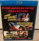 POST APOCALYPTIC COLLECTION Blu ray 3 Disc set Blue Underground REGION FREE