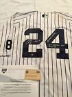 NEW YORK YANKEES GARY SANCHEZ SIGNED INSCRIBED GAME USED 1ST RBI JERSEY STEINER