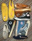 10 SINGLE Vintage Sneakers 60s 70s NOS WTC NBA Triunfador Flagg