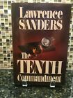 AUTOGRAPHED SIGNED The Tenth Commandment by Lawrence Sanders