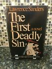 AUTOGRAPHED SIGNED The First Deadly Sin by Lawrence Sanders