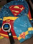 DC Comics Super Hero Girls Supergirl Sequin 16' Backpack And Beanie Set
