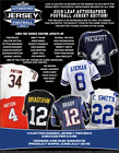 2018 Leaf Autographed Jersey Football 8 box Sealed Case