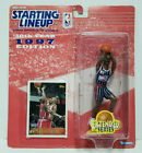 CLYDE DREXLER Houston Rockets Starting Lineup SLU 1997 NBA Action Figure