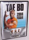 BILLY BLANKS TAE BO 2004 CAPTURE THE POWER STRENGTH BODY FIRMING WORKOUT