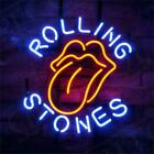 Rolling Stone Hand Craft Boutique Beer Bar Bistro Window Wall Neon Light Sign