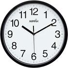 Large Analog Atomic Wall Clock Quartz Accurate Quiet Office Home