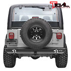 Tidal Rear Bumper with Hitch Receiver&D-Ring Fit 87-06 Jeep Wrangler TJ/YJ
