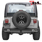 Tidal Rear Bumper with Hitch ReceiverD Ring Fit 87 06 Jeep Wrangler TJ YJ