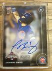 2016 TOPPS NOW CHICAGO CUBS WORLD CHAMPS 15 CARD SET W BAEZ AUTO CARD