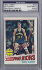 Rick Barry Signed 1977 Topps - PSA DNA