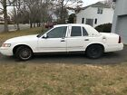 2002 Mercury Grand Marquis White for $1400 dollars