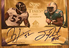 2009 SP Authentic Sign of the Times Ray Lewis Joey Porter On Card Dual Auto 50