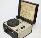 Vintage Califone 1430 K Record Player Portable 1400 Turntable w Speakers