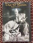 THE 47 RONIN Parts 1 and 2 DVD Kenji Mizoguchi VERY RARE OOP NEW