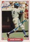 ERNIE BANKS 1993 Nabisco All Star Legends Autograph HOF Chicago Cubs