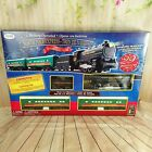 North Pole Express Train Set Christmas Battery Operated 29 pieces T21