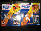 Starting Lineup 1992 Cal Ripken Jr. and Frank Thomas (Lot of 2, Mint in Package)