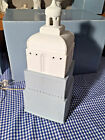Lladro 8920 Metropolis Lamp White Retired Perfect Condition