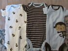 Carters Newborn Baby BoyShirts One Piece w Snaps Monkey