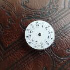 Trench Fob Watch Enamel Dial 23.9mm WWI Dial & Movement Spares Parts & Repair
